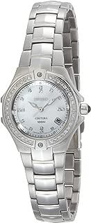 Seiko Women's SXDA37 Coutura Diamond Silver-Tone Watch