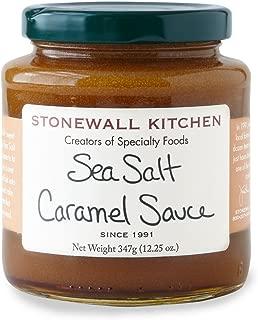 Stonewall Kitchen Sea Salt Caramel Sauce, 12.25 Ounce