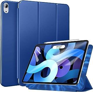 Ztotop iPad Air 4 ケース 第4世代/iPad 10.9 ケース2020 磁気吸着式 オートスリープ機能 iPad Air第4世代/iPad Pro 11 2018対応カバー ブルー