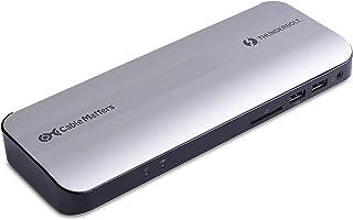 認証済み Cable Matters Thunderbolt 3 ハブ HDMI 2.0 60W Thunderbolt 3 ドッキングステーション Windows MacBook Pro用 Thunderbolt 3ドック Thunderbo...