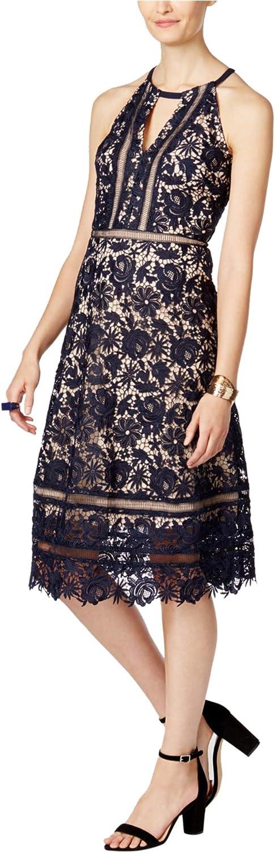 INC Womens Floral ALine Dress