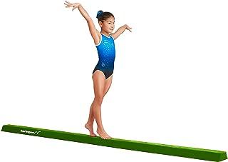 Springee 10ft Balance Beam - Extra Firm - Suede Folding Gymnastics Beam for Home