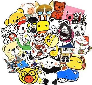 QTL Waterproof Cartoon Vinyl Stickers Bomb Laptop Water Bottle Toys for Kids(50Pcs/Pack)