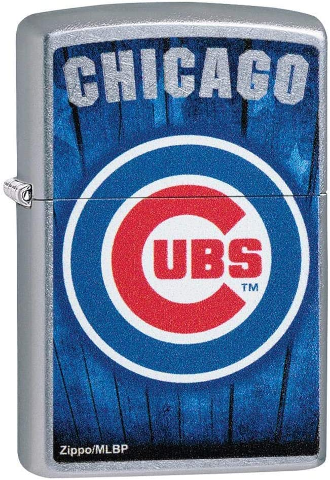 Zippo Unfilled Lighter MLB Ranking TOP2 29792 Chicago Cubs Bargain sale