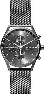 Skagen Holst Men's Grey Dial Stainless Steel Analog Watch - SKW6608