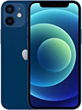 New Apple iPhone 12 mini (128GB, Blue) [Locked] + Carrier Subscription