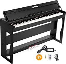 LAGRIMA 88 Key Weighted Digital Piano w/Bluetooth&MP3 Function,..