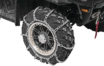 2001-2002 Polaris 400 Sportsman - Front & Rear Snow Chains (4 Chains) - Tire Sizes 25x8x12 & 25x11x10