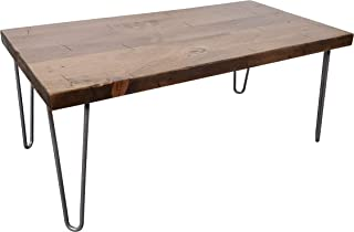 Sponsored Ad - Peaceful Classics Rustic Wooden Coffee Table   Industrial, Farmhouse, Furniture for Living Room