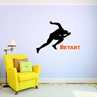 Peel /& Stick Wall Sticker Softball Sports Son Daughter Boy Girl Teen Color As Seen Size 18 Inches x 18 Inches Design with Vinyl Moti 2694 3 Decal