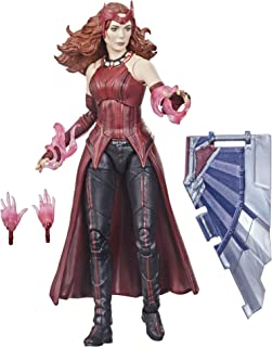 Hasbro Marvel Legends Series Avengers 6-inch Action Figure Toy Scarlet Witch, Premium Design And 4 Accessories, For Kids A...