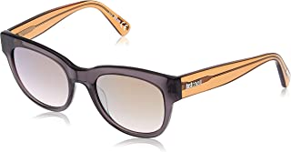 JUST CAVALLI Women's JC759S 20G 52 Sunglasses, Grey (Grigio/Altro/Marrone Specchiato)
