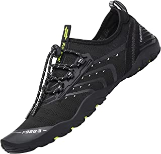 Tmaza Mens Womens Quick Drying Non-Slip Breathable Water Shoes, Gr.35-48