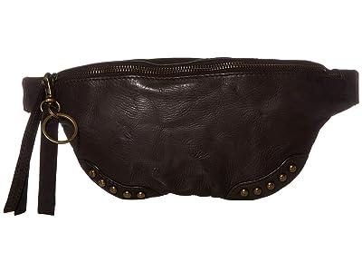 FRYE AND CO. Odessa Belt Bag (Dark Brown) Cross Body Handbags