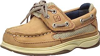 Unisex-Child Lanyard Alternative Closure Boat Shoe
