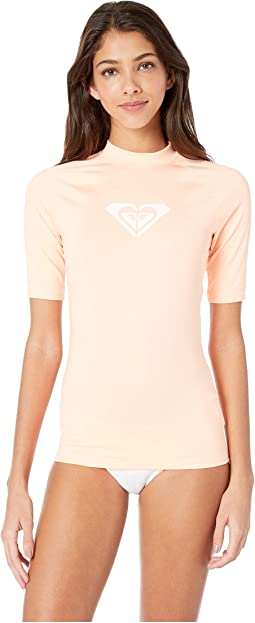 39c2020e60 Roxy whole hearted short sleeve rashguard | Shipped Free at Zappos