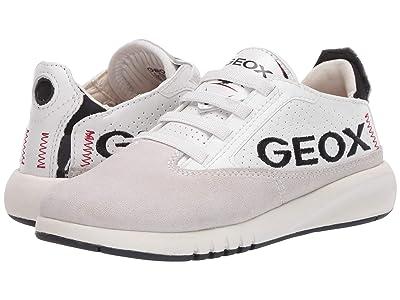 Geox Kids Aeranter D 1 (Little Kid/Big Kid) (Grey/White) Boy