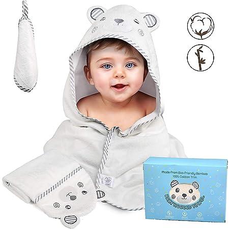 Babyhandtuch mit Kapuze Baby Poncho Babybademantel Kapuzenbademantel Badehandtuch 100/% Baumwolle Baby-Badetuch//Kapuzenhandtuch 140x70 cm Baby Badetuch Ohne Chemikalien Kapuzenhandtuch