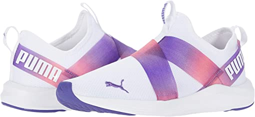 Puma White/Purple Corallites