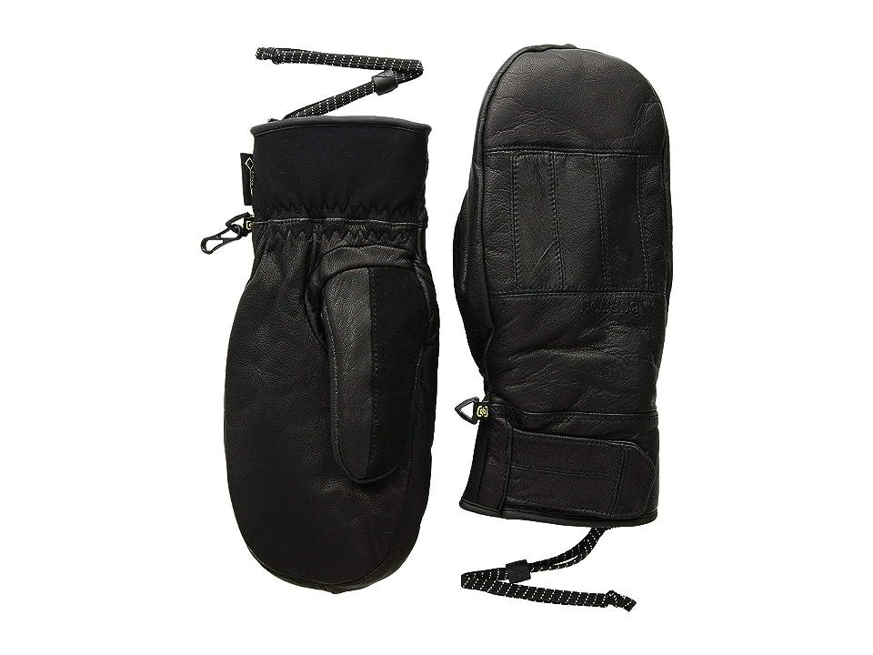 Burton Gondy Leather Mitt (True Black 1) Snowboard Gloves