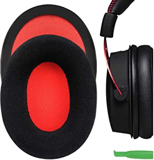 Geekria Comfort Velour Replacement Ear Pads for HyperX Cloud II Gaming Headphones Earpads, Headset Ear Cushion Repair Part...