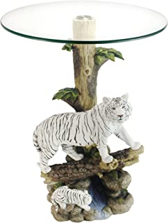 Best tiger coffee table glass top Reviews