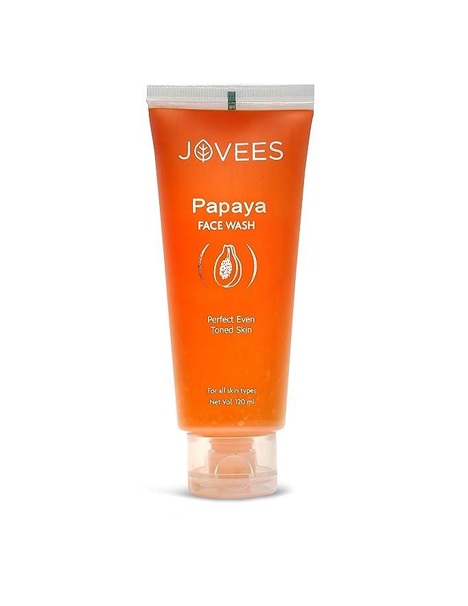 オピエートストレス保険をかけるJovees Face Wash, Papaya, 120ml