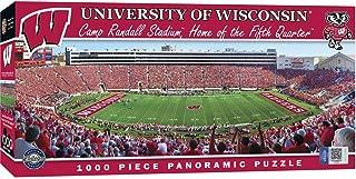 MasterPieces Collegiate Wisconsin Badgers 1000 Piece Stadium Panoramic Jigsaw Puzzle