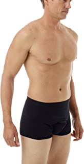Underworks Cotton Spandex Ultra Light Compression Boxers 3-Pack
