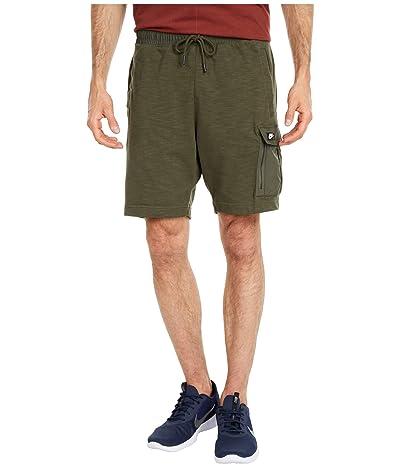 Nike NSW Shorts Lightweight Mix (Cargo Khaki/Cargo Khaki/Black Oxidized) Men