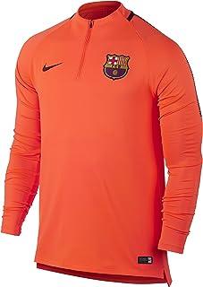 NIKE FCB Nk Dry Sqd Dril, Camiseta de Manga Larga para Hombre