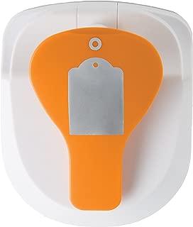 Fiskars 197500-1002 Tag Maker with Built-in Eyelet Setter, Standard, Orange/White