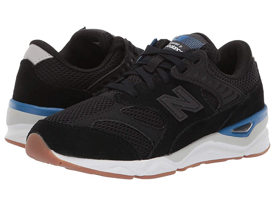 New Balance Kids PSX90Rv1 (Little Kid) (Black/Classic Blue) Boys Shoes