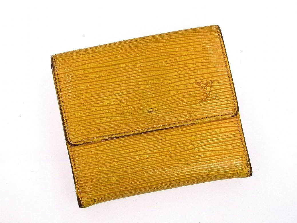 動かない男間隔[ルイヴィトン] LOUIS VUITTON 二つ折り財布 エピ M61652 エピレザー X8201 中古