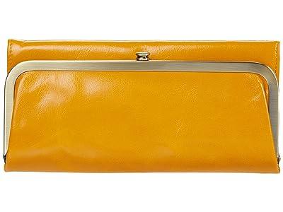 Hobo Rachel (Mustard Vintage Hide) Clutch Handbags