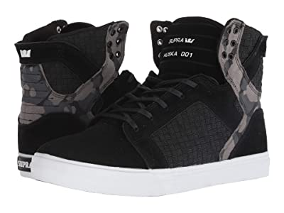 Supra Skytop (Black/Camo/White) Men