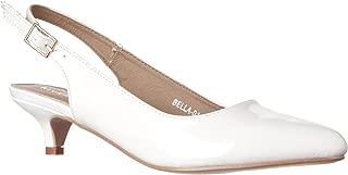 Women's Bella Pointed Toe Sling Back Low-Height Pump Heels