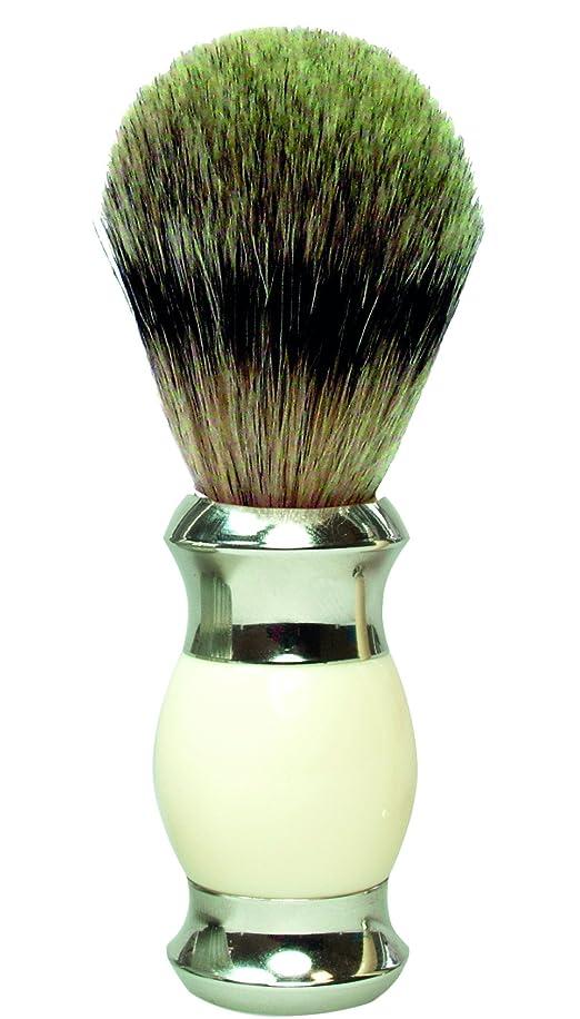 GOLDDACHS Shaving brush, Finest Badger, white/silver