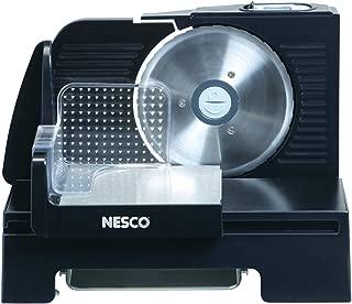 NESCO FS-140R, Food Slicer, Black, 6-5/8 inch Stainless Steel Blade, 150 watts