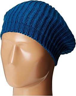 San Diego Hat Company - KNH3431 Knit Beret with Ribbed Opening