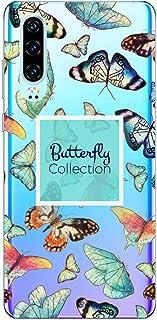 Oihxse Silicone Transparente Case avec Motif Papillon Compatible pour OnePlus 3/OnePlus 3T Coque Souple TPU Gel Mode 3D De...