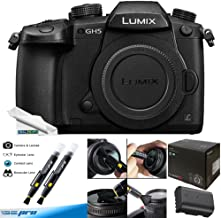 $1279 » Panasonic Lumix DC-GH5 Mirrorless Micro Four Thirds Digital Camera (Body Only) - Deal-Expo Bundle