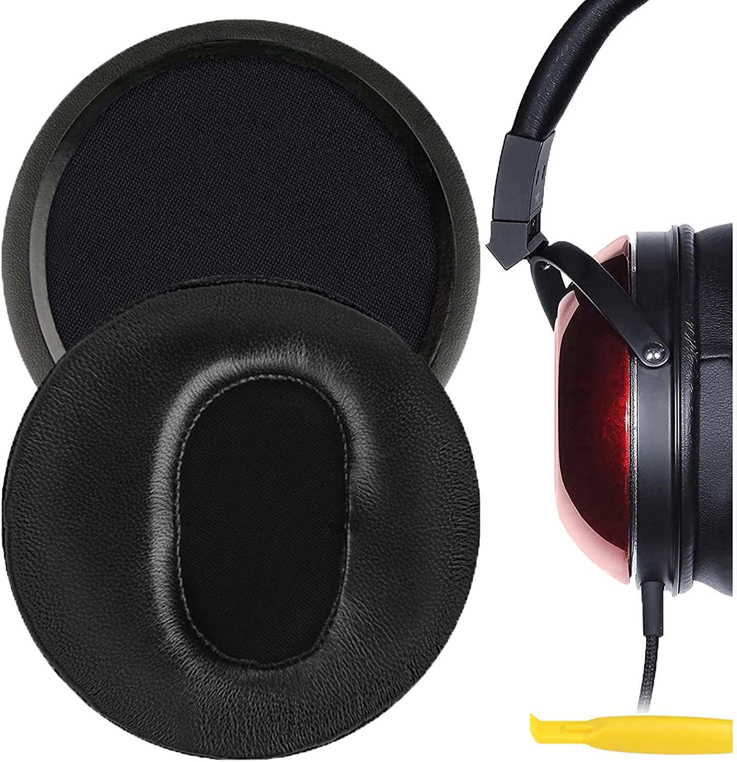 Geekria Elite Sheepskin Replacement Ear Pads T TH600 Outlet Very popular! sale feature for Fostex