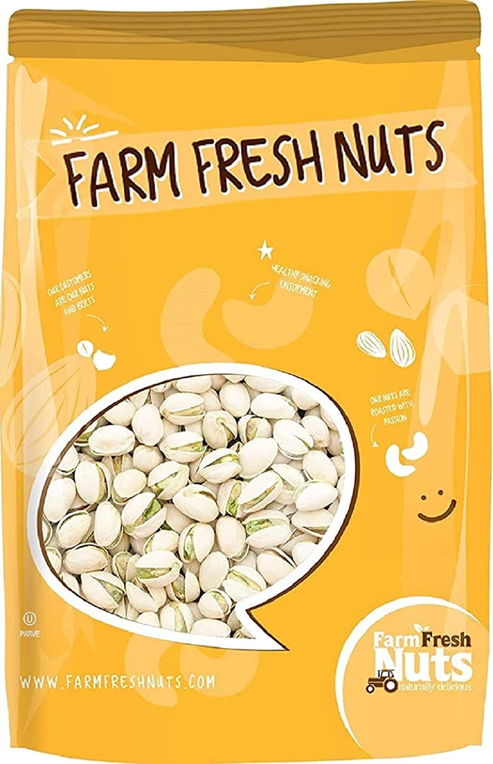 Dry Roasted In Shell Pistachios with - 2 Salt Sea Lbs. Pacific Nippon regular agency 70% OFF Outlet
