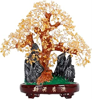 Crystal Tree Crystal Tree Lucky Tree Home Living Room Decoration Crafts Gift Money Tree Decoration Bonsai Style Decoration...