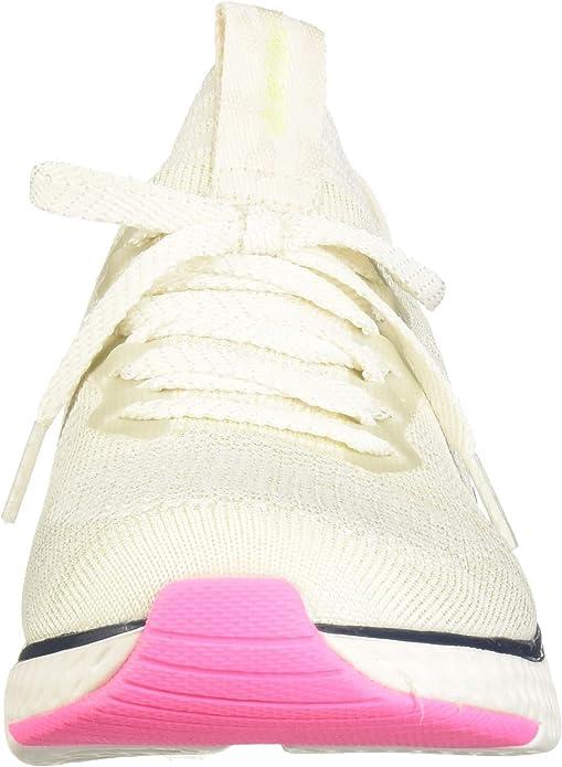 Stretch Flat Knit Laced Slip Sneaker