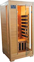 Therapuresauna ESF101HCB 1-2 Person Canadian Hemlock Carbon Heater