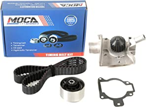 MOCA Timing Belt Kit with Water Pump for 1997-2002 Ford Escort & 1997-1999 Mercury Tracer 2.0L L4 GAS SOHC