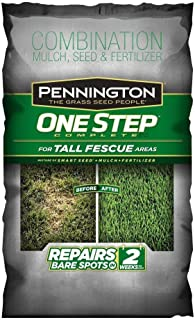 Pennington 35 lb. One Step Complete Complete for Tall Fescue with Smart Seed, Mulch, Fertilizer Mix
