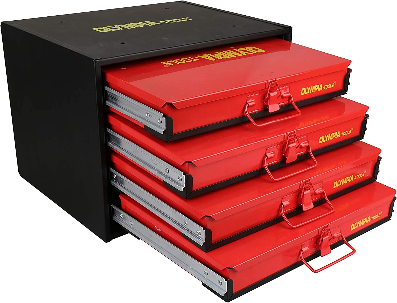 Olympia 格安店 Tools 90-806 4-Drawer Hardware [宅送] Organizer includes 2500-p